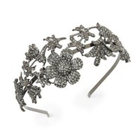 BCBGMAXAZRIA - ACCESSORIES: VIEW ALL: FLORAL TIARA HEADBAND