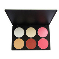 6 Colors Professional Face Bluser Palette - $20.01