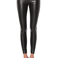 See You Monday Legging Biker in Black