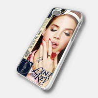 lana del rey case - iPhone 4 Case, iPhone 4s Case and iPhone 5 case Hard Plastic Case