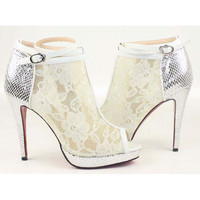 Satin Zipper High-heeled Sandals [TQL120305011] - $62.49 : wedding fashion, wedding dress, bridal dresses, wedding shoes