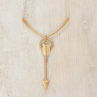 Katniss' Revenge - Bow and Arrow Necklace - Hunger Games by Prairieoats