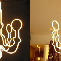 Neon Chandelier by Matt Dilling for Neon - Free Shipping