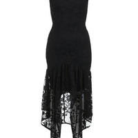 Lace Hanky Hem Dress - View All  - Dress Shop