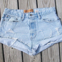 Plain Jane Levis Shorts