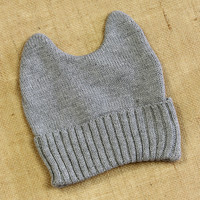 Can&#x27;t Believe My Ears Beanie: Gray [BC1645] - $11.99 : Spotted Moth, Chic and sweet clothing and accessories for women