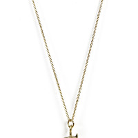 Wrecking Ball Necklace: Gold [ENE680] - $9.99 : Spotted Moth, Chic and sweet clothing and accessories for women