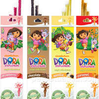 DORA THE EXPLORER MAGIC MILK STRAWS