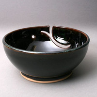 Yarn Bowl by Hurricane Pottery