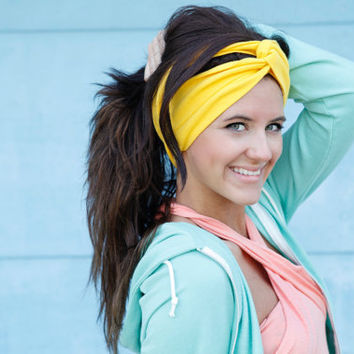 Turban headband in your choice of color