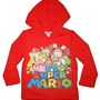 Amazon.com: Super Mario Girls Hooded Fleece Pullover: Clothing