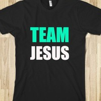 Team Jesus Mint & White - Connected Universe