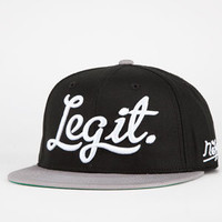 NEFF Legit Mens Snapback Hat