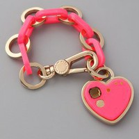 Marc by Marc Jacobs Big Heart Charm Bracelet | SHOPBOP