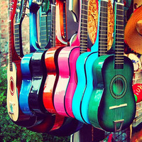 music photograph las guitarras spanish guitars Los by MyanSoffia