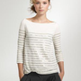 Women&#x27;s Women_Feature_Assortment - back by popular demand - Stripe sequin boatneck tee - J.Crew