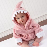 Pink Baby Shark Robe