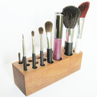 Organizer Makeup Brushes Holder Bathroom Decoration
