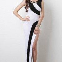 Evening Tryst Maxi Dress