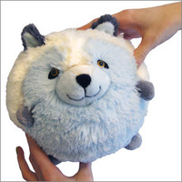 Mini Squishable Arctic Fox: An Adorable Fuzzy Plush to Snurfle and Squeeze!