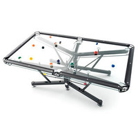 G-1 Glass Pool Table - buy at Firebox.com