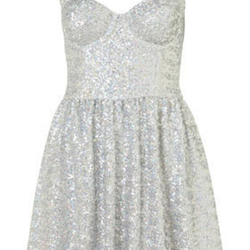 Disco Sequin Prom Dress - New In This Week  - New In  - Topshop USA