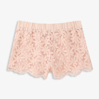 Scalloped Floral Shorts | FOREVER21 girls - 2028106823