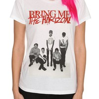 Bring Me The Horizon Photo Girls T-Shirt - 10006261