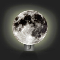 Kikkerland Design Inc   » Products  » Night Light + Moon