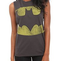 DC Comics Batman Deep Sleeve Girls Tank Top - 328852