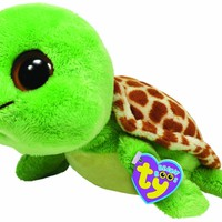"Ty Beanie Boos Sandy Turtle 13"" Plush"