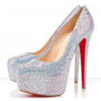 Christian Louboutin Daffodile 160mm Aurora Boreale