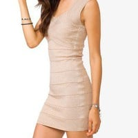 Metallic Bandage Bodycon Dress | FOREVER 21 - 2027706071