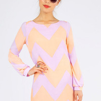 Linus Zig Zag Shift Dress $33