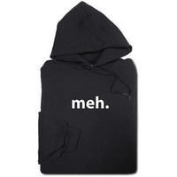ThinkGeek :: Meh Hoodie