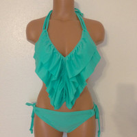 Seashore medium ruffle bikini