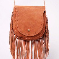 AKIRA Suede Fringe Hand Bag | Fringe Purses | shopAKIRA.com