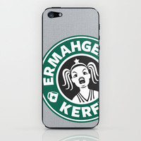 Ermahgerd, Kerfer! iPhone & iPod Skin by powerpig | Society6