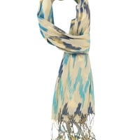 Metallic Ikat Scarf | FOREVER21 - 1000042571