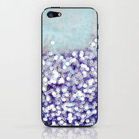 sea of bling - indigo iPhone & iPod Skin by Iris Lehnhardt | Society6