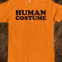 HUMAN COSTUME - HALLOWEEN SHIRTS & COSTUMES - Skreened T-shirts, Organic Shirts, Hoodies, Kids Tees, Baby One-Pieces and Tote Bags