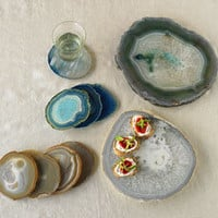 Agate Plates and Coasters