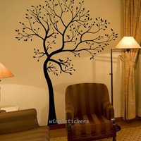 Vinyl Wall Decal tree decal Nature Design Tree Wall Decals Wall stickers Nursery wall decal wall art------Lucky Tree