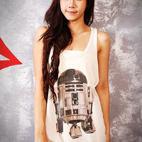 R2D2 Robot Star Wars Classic Film Off by SoYouThinkYouCanRock
