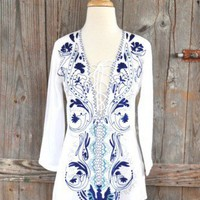 Desigual Abeja Blouse at OurChoix.com