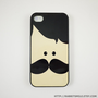 Mr. Mustache iphone 5 case, iphone 5 cover, hard iphone 5 case