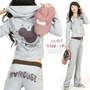 Casual Womens Hoodies Hooded Sweats Tracksuits Sport Jacket Pants Suit