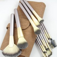 Elite 18 Piece Makeup Brush Set WIth Case - Professional Quality - Synthetic: Beauty