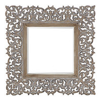 "Z Gallerie - Sienna Mirror - 45"" Square"