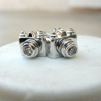 Click, Click Camera Studs [2510] - $9.00 : Vintage Inspired Clothing &amp; Affordable Fall Frocks, deloom | Modern. Vintage. Crafted.